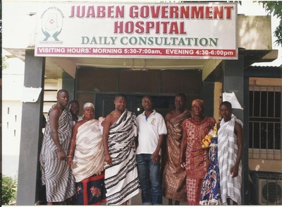 FAMILY PIC WITH DOCTOR OF JUABEN HOSPITAL