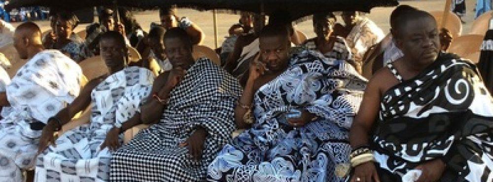APPIANYINASE HENE - NANA KWANIN KWANFO II REPRESENTING JUABENHENE AT ADUMASA